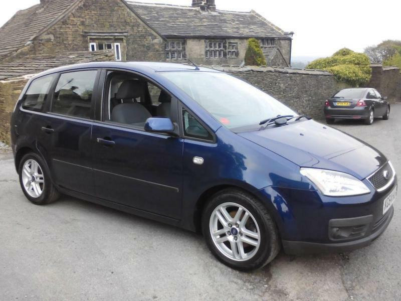 2004 ford focus c max 1 6 tdci zetec 5dr 5 door mpv in. Black Bedroom Furniture Sets. Home Design Ideas