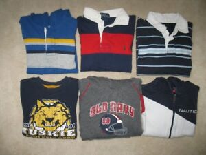 Boys Size 6 Long Sleeve Shirts