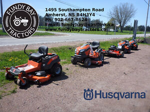 Husqvarna Ride On Mowers 0% Financing for up to 36 Months