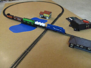 Train layout for sale...N scale.