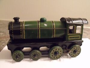 ANTIQUE JOUET TRAIN A CRINQUE MADE IN GERMANY RARE