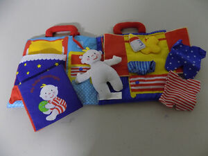 MY BABY GOODNIGHT CLOTH BOOK AND PLAY SET London Ontario image 1