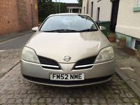 Nissan Primera S -reduced by £100 for a quick sale-