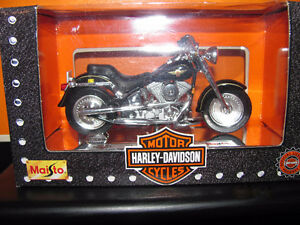 3 UNOPENED Die Cast 1997 Harley Davidson Fat-Boys