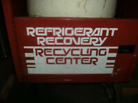 For sale a Refeigerant Recovery Recycling Center