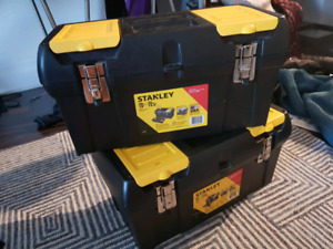 2 Toolboxes + Tools