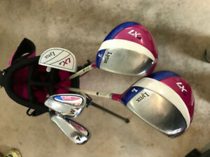 Girls Junior Lynx golf clubs for sale for 7-11 yr old