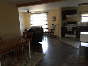 2 Bedroom House for Rent in Back Bay, N.B. Available Immediately
