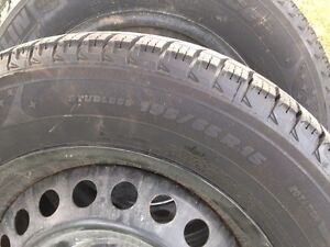 4 Michelin x-ice winter tires.  195 65 15. Peterborough Peterborough Area image 2