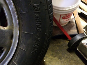 5 tires on rims 205 70 R 15 - now reduced by $200 St. John's Newfoundland image 4
