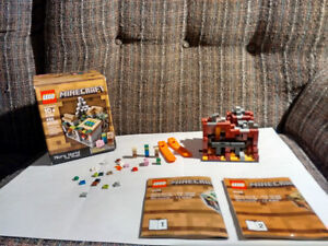 LEGO MINE CRAFT MICRO WORLD THE VILLAGE FOR SALE
