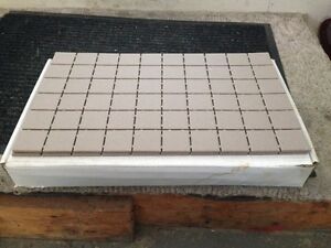 SHOWER FLOOR TILE - NEW IN BOX