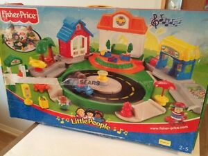 Village des découvertes Little People Fisher Price