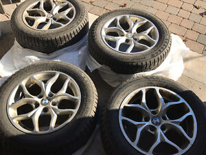 BMW 18 in. Winter Tire + Rims West Island Greater Montréal image 3