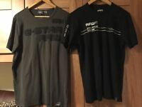 2 G Star T-Shirts & Shirt - Brand New Condition- Only Worn Few Times