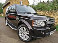 2010 LAND ROVER DISCOVERY 4 3.0 TDV6 ( 242bhp ) AUTO HSE. CAMBELT CHANGED !!