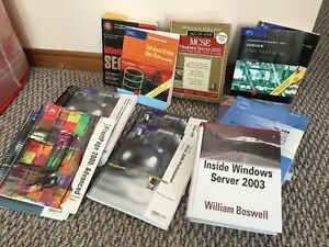 Large Assortment of IT Computer Networking Textbooks Peterborough Peterborough Area image 3