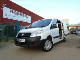 FIAT SCUDO 12Q 1.6 Multijet 90 H1 Comfort Van FSH 2/OWNERS P/AID R/CAM *NO VAT*