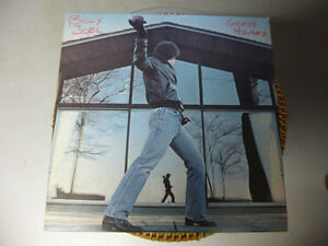 DISQUE VINYLE (BILLY JOEL GLASS HOUSES)
