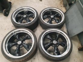 Mustang alloy wheels