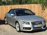 AUDI A5 S5 S TRONIC CONVERTIBLE 2009 IMMACULATE px s3 s4 rs3 gti dsg gtd R m3 rs4