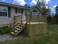 Available for decks and steps
