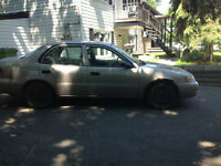 1998 Toyota Corolla VE Berline/route ou pieces
