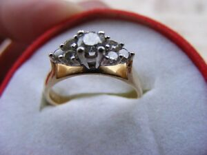 """Adoration"" engagement/anniversary ring (MAKE ME AN OFFER)"