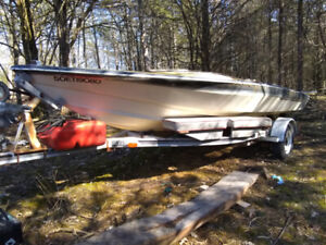 17' JCraft Project boat and Trailer