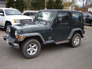 2004 Jeep Wrangler TJ SUV, Crossover
