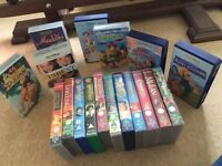 Disney and Dreamworks VHS Videos X 18