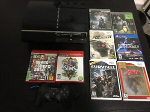 Rare Original PS3!! Games and accessories included!