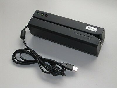 Msr606 Magnetic Stripe Card Reader Writer Encoder Hilo Co Track 1 2 3 Msr206
