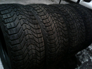 4 PNEUS D'HIVER 225-50-R17 FIRESTONE WINTERFORCE