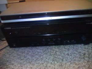 Yamaha amplifier and Sony DVD RW