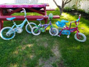 Girls bikes 30$ each