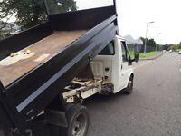 Ford transit tipper 90 t350 MWB 7 months MOT (53)REG No VAT