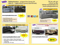 BRAND NEW- LIVING ROOM FURNITURE- SOFA SETS, SECTIONAL SOFAS