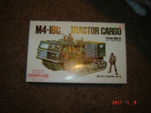 model kits tractor, cargo, pickup, Thunderbirds,Jeep,Ranchero