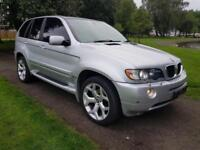 "BMW X5 3.0d SPORT 5 DOOR AUTOMATIC 2003 ""03"" REG 126,000 MILES 4x4 DIESEL £3,995"