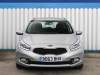 Kia Ceed 1.6 Crdi 2 Ecodynamics 2014 (63) • from £37.22 pw