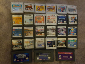 Lots of Nintendo DS 3DS and GBA games