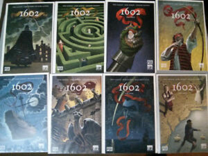 Marvel Knights comic lot of 8 1602 complete 1-8 series $15