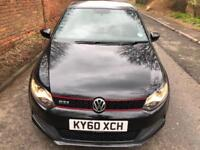 VOLKSWAGEN POLO 1.4 GTi BLACK 2010 AUTO IN EXCELLENT CONDITION AUTOMATIC