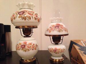Antique Hurricane Lamps w/night lights Regina Regina Area image 6