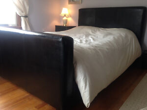 Double (Full) Black Bed Frame $150 OBO