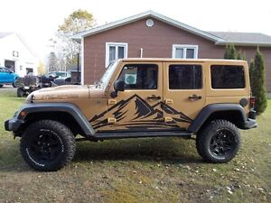2013 Jeep  unlimited moab edition