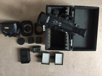 Canon xha1 with accessories