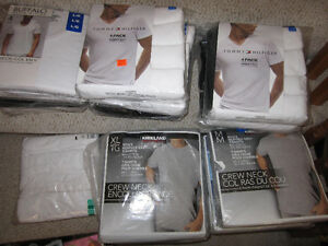 T-shirts - Buffalo, Tommy Hilfiger and Kirkland Brand, brand new