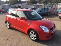 Suzuki Swift 1.5 GLX 2005/55 ONLY 93K FULL HISTORY & DECEMBER 17 MOT